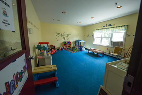 Nursery number one, carpet scheduled to be replaced Fall 2017