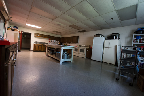 Our large kitchen facility will also be undergoing updates over the next year